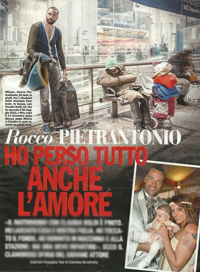 """Selvaggia contro Rocco Pietrantonio: """"Sorride all'obiettivo con i clochard sullo sfondo"""""""